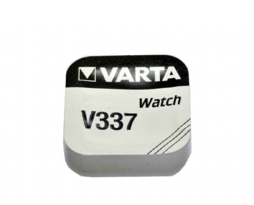 Varta V337 337 SR416SW Silver Oxide Watch Battery 1.55v